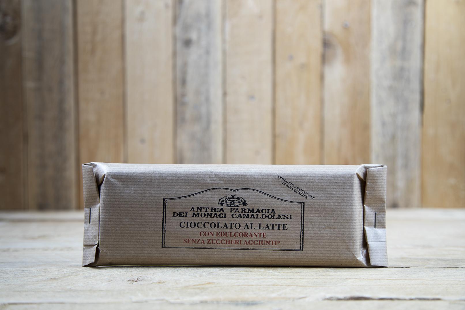 Cioccolato al latte senza zuccheri aggiunti
