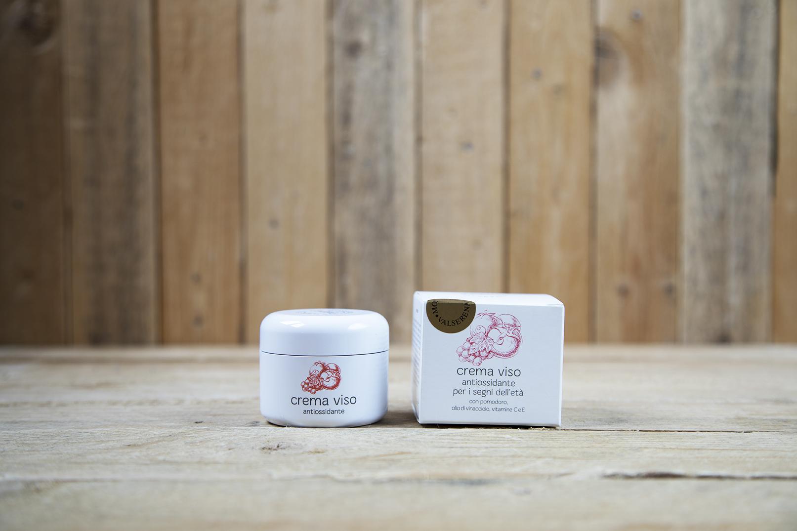 Crema per il viso antiossidante