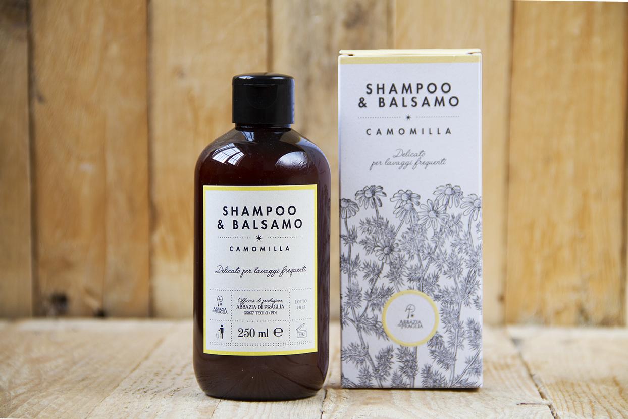 Shampoo & balsamo alla camomilla