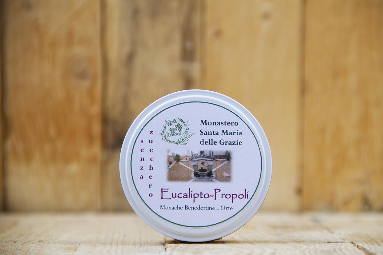 Caramelle all'eucalipto e propoli (senza zucchero)