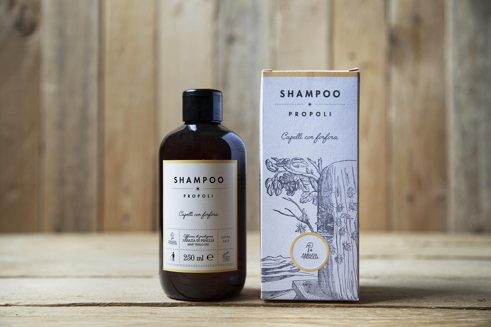 Shampoo alla propoli