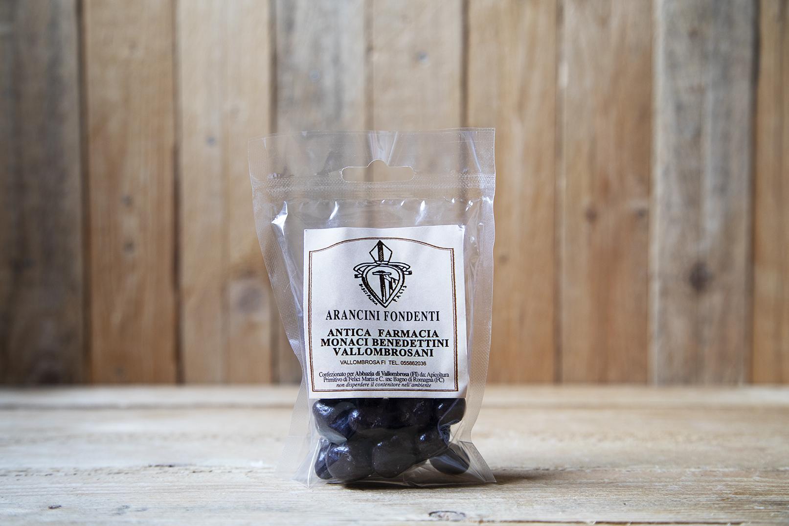 Arancini al cioccolato fondente