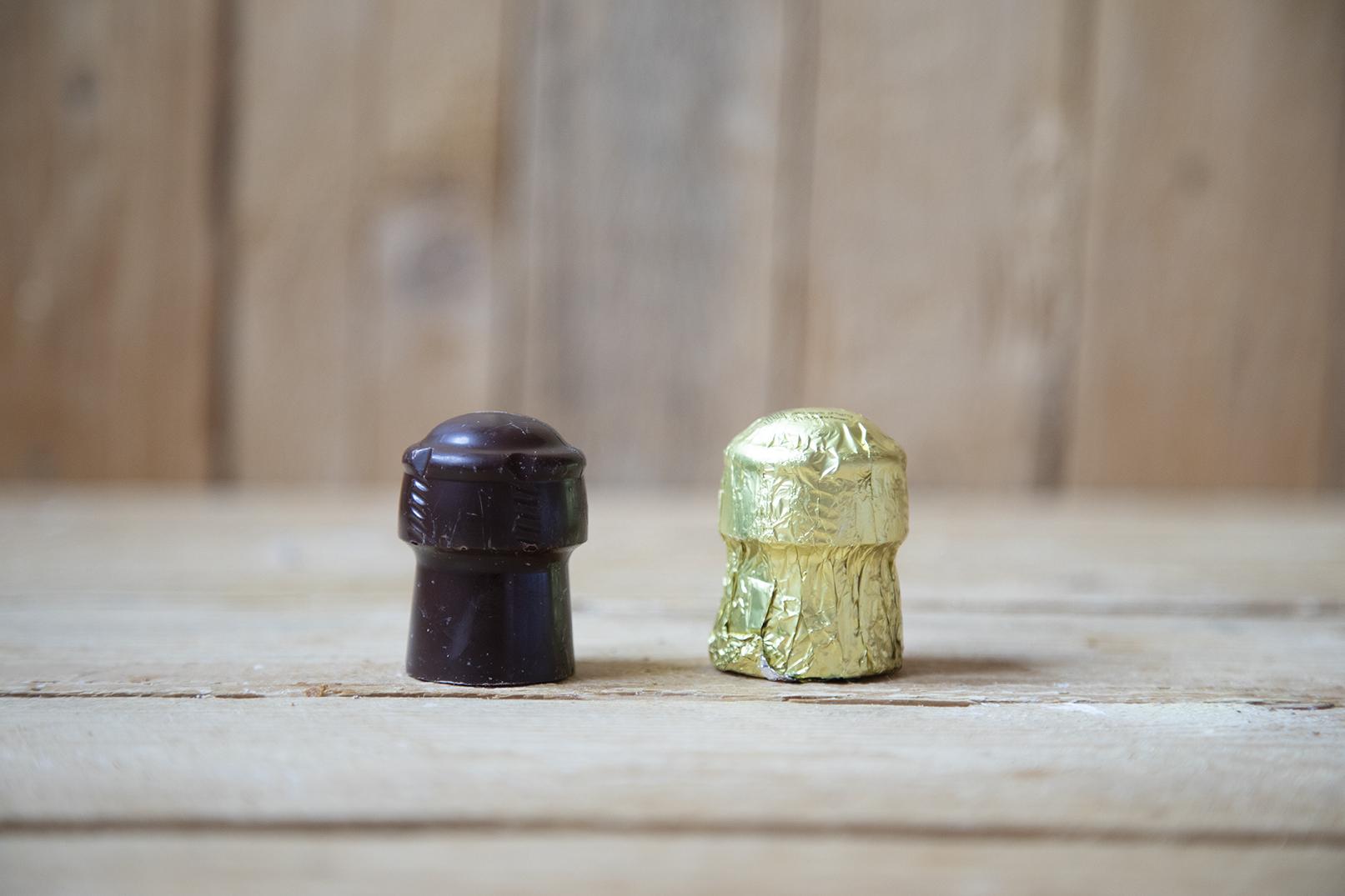 Grande tappo di cioccolato