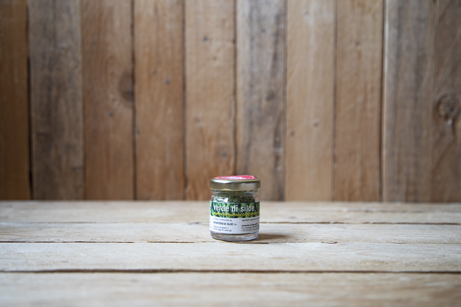 Verde di Siloe (peperoncino macinato BIO)