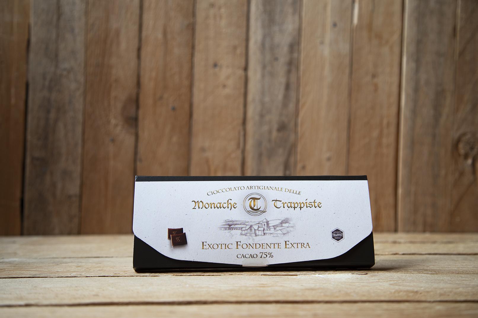 Cioccolato fondente esotico 75%