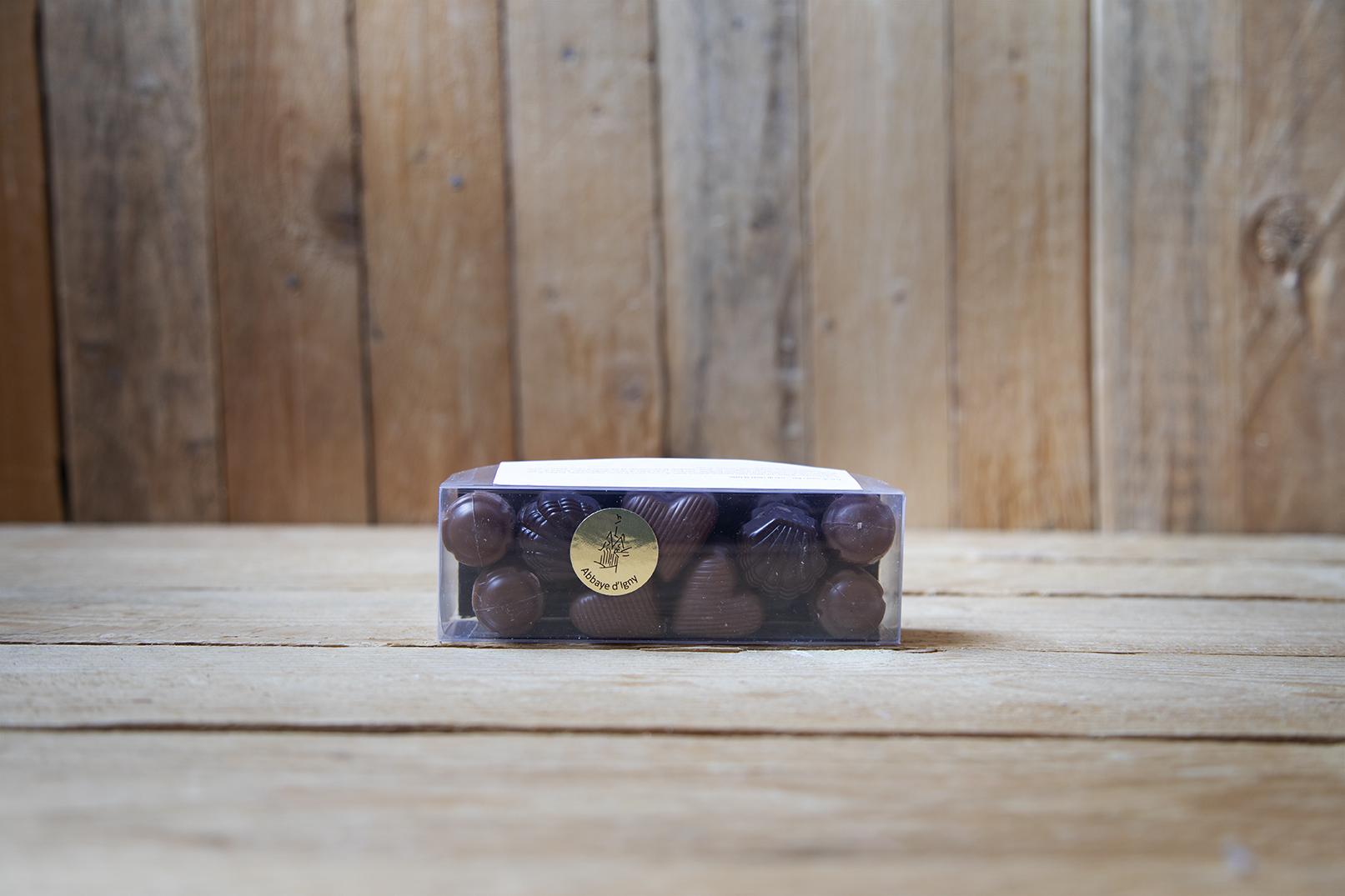 Cioccolatini trio di cuori